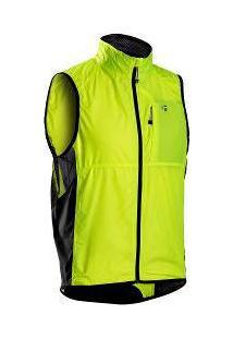 Colete Corta Vento Bontrager Race Windshell Vest Masculino De Ciclismo - Verde Limão - Tamanho L