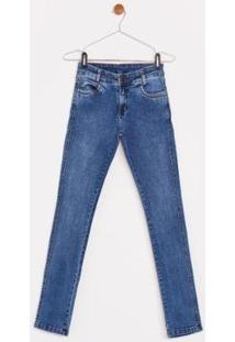 Calça Jeans Express Infantil Paulo - Masculino-Azul
