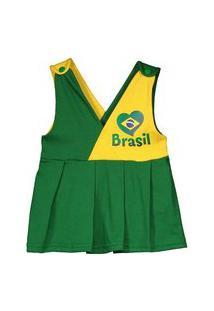 Vestido Bebê Brasil