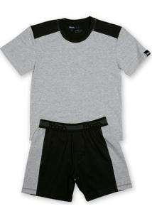 Conj. Pijama Cotton Curto Infantil - Masculino