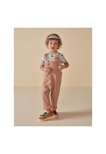 Amaro Feminino Camiseta Infantil Estampada Full Print, Animal Mix