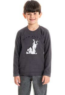 Pijama Infantil Masculino Longo Cold