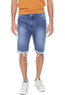 Bermuda Jeans John John Reta Perth Azul