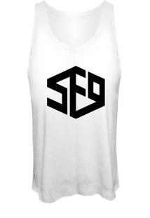 Camiseta Cropped Nerderia Kpop Sf9 Branca