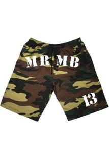 Bermuda Moletom Mfw Mrmb 13 Com Bolsos Masculina - Masculino