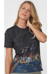 Camiseta Cantão Anoitecer Preta