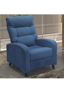 Poltrona Reclinável Moby Mx 31 00131.0373 Azul - Matrix