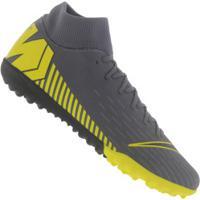 11ae1636b5 Centauro. Chuteira Society Nike Mercurial Superfly X 6 ...