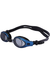 Óculos De Natação Oxer Zeus - Adulto - Azul/Preto