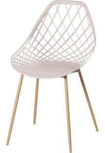 Cadeira Frank Nude Pes Bege - 50066 - Sun House