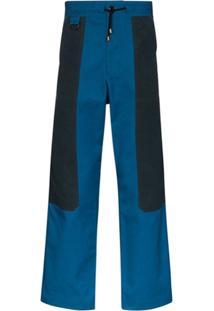 Nicholas Daley Calça Com Recortes - Azul