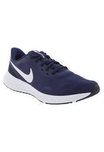 Tênis Nike Revolution 5 Esportivo Masculino Marinho