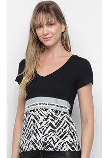 Camiseta Acostamento Action Reflection Fron Yourself Feminina - Feminino