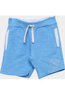 Bermuda Infantil Milon Masculina - Masculino-Azul Claro