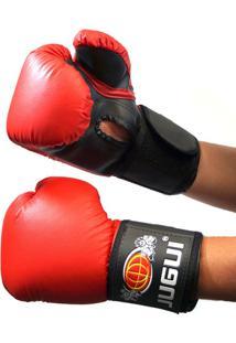 Luva Boxe Muay Thai Kickboxing Combate Importado Jugui - 10Oz - Unissex 263ef688d3987