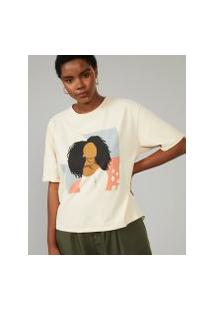 Amaro Feminino T-Shirt Woman, Areia