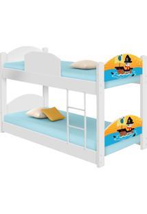 Beliche Infantil Pirata Casah - Branco/Multicolorido - Menino - Dafiti