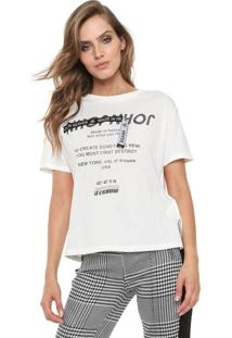 Camiseta John John Create Off-White