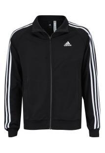 ir para a loja. Jaqueta Adidas Essentials 3S Top - Masculina - Preto Branco 828125084d44e
