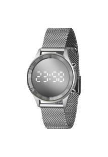 Relógio Digital Lince Feminino - Ldm4648L Prateado