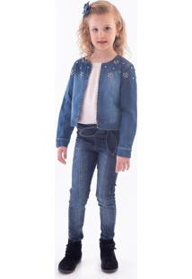 Casaco Mrx Jeans Inverno Azul