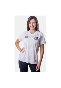 Camisa Umbro Santos I 2021 Feminina