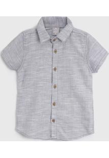 Camisa Hering Kids Infantil Flamê Cinza
