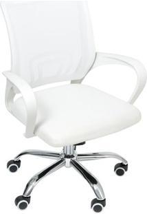 Cadeira De Escritório Tok- Branca- 92X46X49Cmor Design