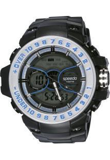 8da43f48ff6 Relógio Digital Analógico Speedo 81100G0Ek - Masculino - Preto Azul