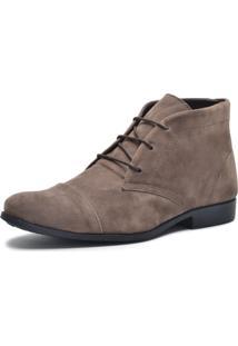 Bota Cano Curto Mine Shoes Café