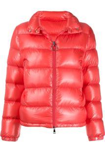 Moncler Puffer Jacket - Laranja