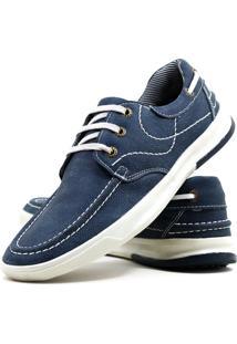 Sapato Casual Docksider Mafisa Azul