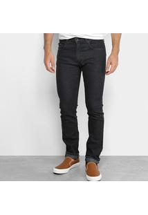 Calça Jeans Skinny Calvin Klein Skinny Black Masculina - Masculino-Preto