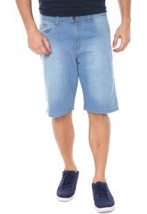 Bermuda Jeans Polo Wear Reta Estonada