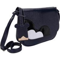 3fdfe6382 Bolsa Pequena Transversal Selten Feminina - Feminino-Azul Escuro