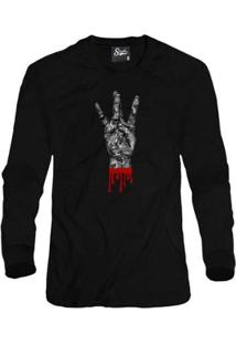 Casaco Moletom Skull Clothing West Side Masculino - Masculino-Preto