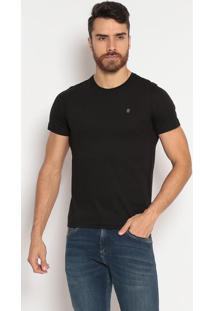 Camiseta Lisa Slim Fit - Pretaindividual