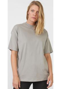 Camiseta Hering Lisa Cinza