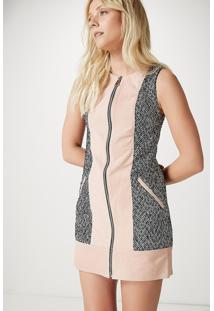 Vestido Tweed Chamois Concept