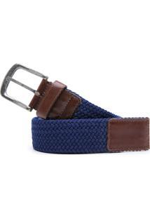Cinto Moderno Coronello Azul