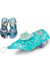 Sandália Grendene Frozen Snow (Com Brinde) Infantil