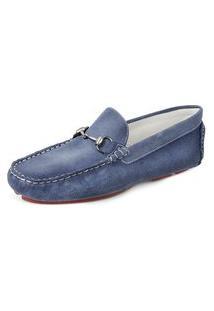 Sapato Drive Sandro Moscoloni Bahama Azul