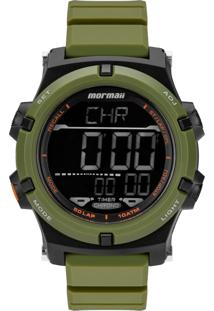 Relógio Mormaii Digital Raízes Mo1192Ad8V Verde