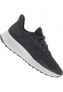 Tênis Adidas Duramo 9 - Feminino - Cinza Escuro