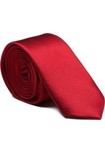 Gravata Seda Red