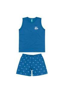 Pijama Infantil Menino Curto Malwee 1000088329