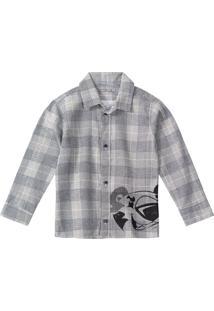 Camisa Tigor T. Tigre - 80001I Cinza