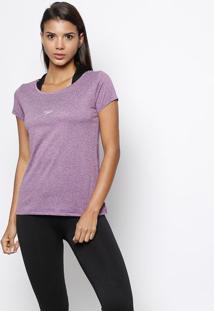 Camiseta Blend Fast Dry® - Roxa & Cinzaspeedo