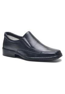 Sapato Social Masculino Ortopédico Ultra Leve Com Palmilhas Ortopédicas Indicado Para Diabéticos Fm1502