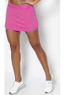 Short Saia Tennis - Pink & Lilã¡Sfila